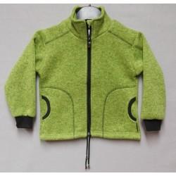 Mikina - svetrová  sv. zelená