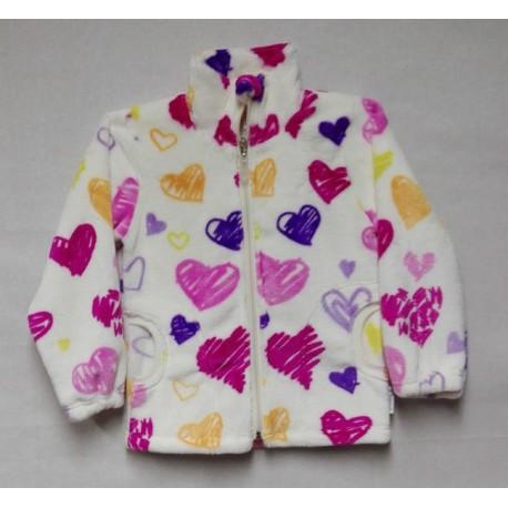 Mikina  WELLSOFT-růžové  srdce