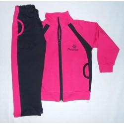 Tepláková souprava dívčí - růžová